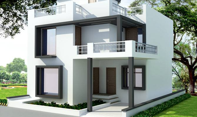 South Indian House Front Elevation Designs Style