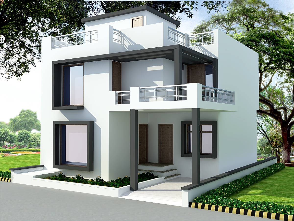 South Indian  House  Front Elevation  Designs  Style House