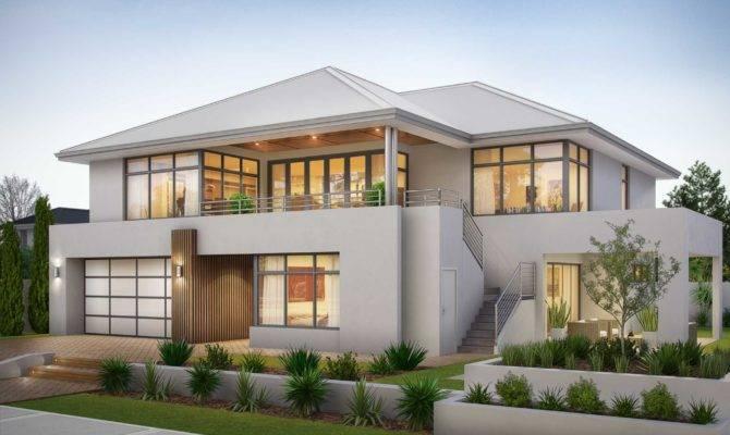 South Perth Reverse Living Storey Home Wishlist Homes