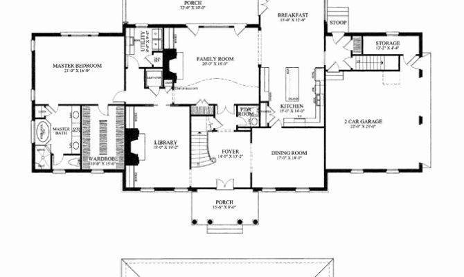Southern Colonial House Plans New Plantation Home