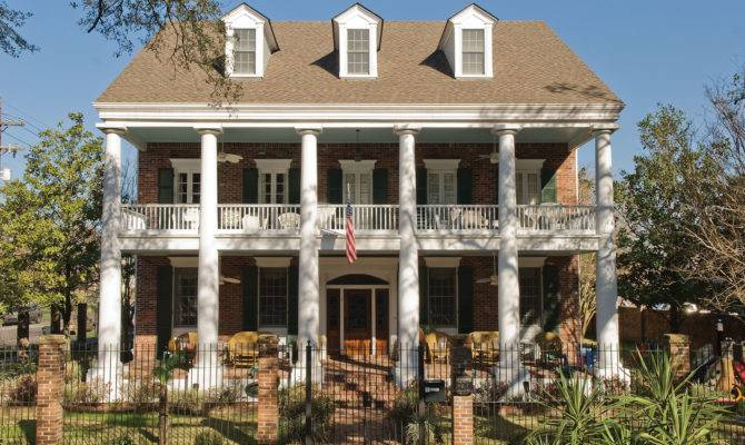 Southern Colonial House Style Imgkid