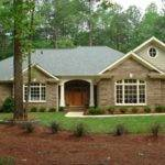 Southern Dining Room Brick Ranch Home Exterior Makeovers