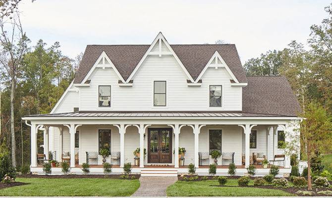Southern Gothic Living House Plans