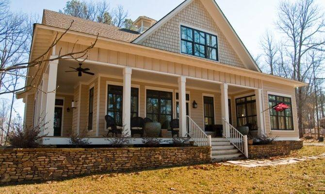 Southern House Plans Wrap Around Porch Cottage