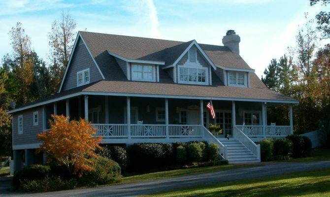 Southern House Plans Wrap Around Porches