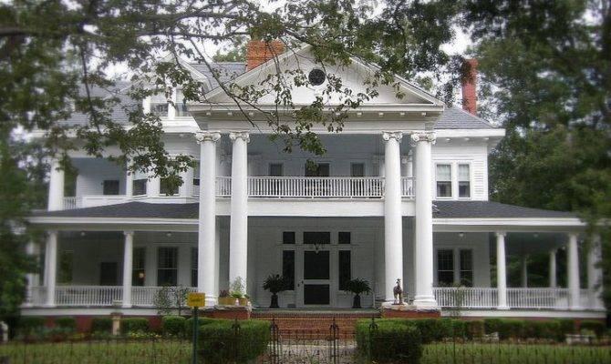 Southern House Plantation Homes Pinterest