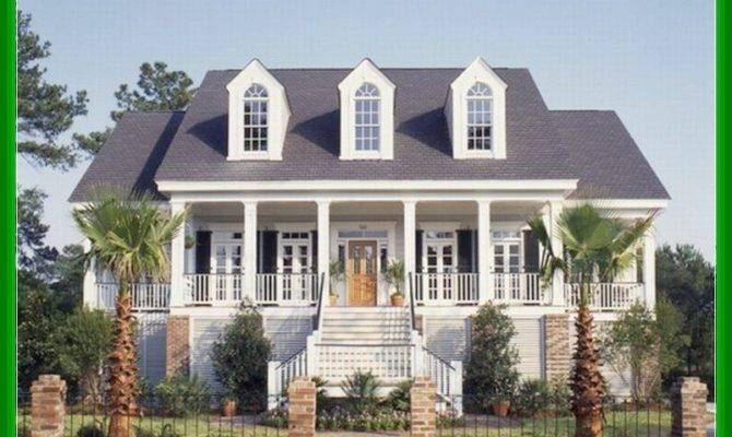 Southern Living House Plans Porches Modern Style