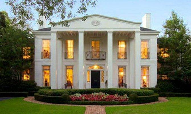 One Story Southern Plantation House Plans - House Design Ideas
