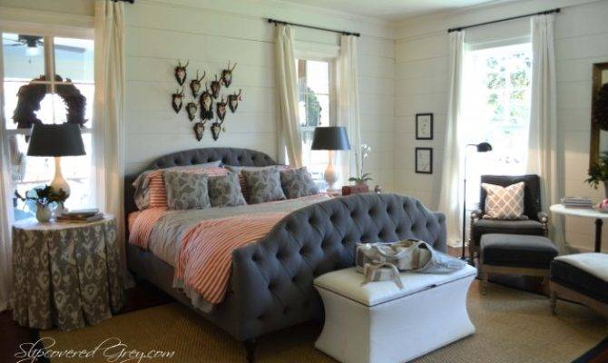 Southern Living Idea House Cont Slipcovered Grey