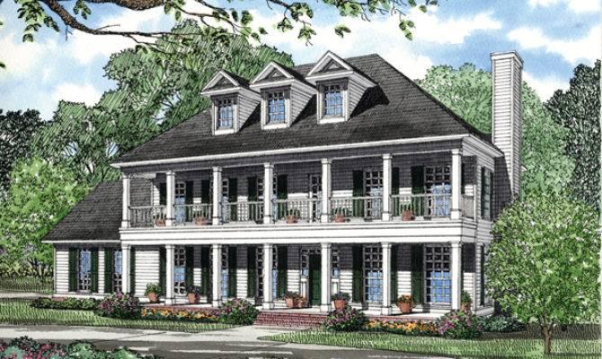 Southern Plantation Home Plans Designs House Design