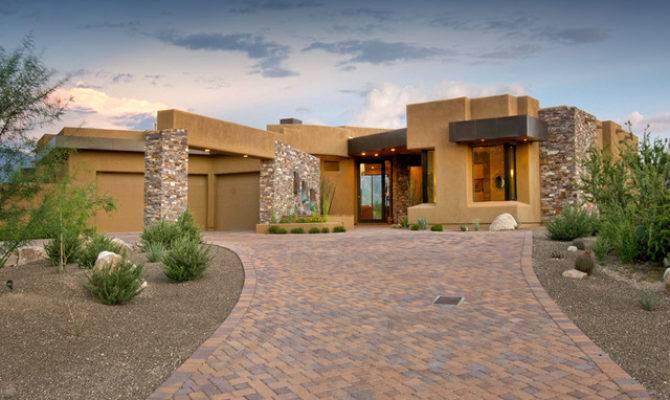 Southwest Contemporary Southwestern Exterior