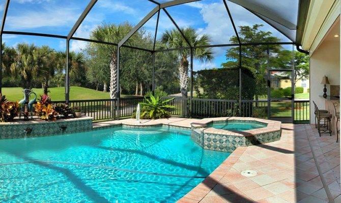 Southwest Flordia Pool Homes Sale Lenora Marshall