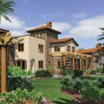 Southwest Style Home Plans Design