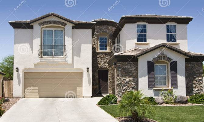 Southwestern Home Beige Stone