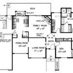 Southwestern House Plan First Floor Plans More