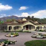Southwestern Style Home Plans Floor
