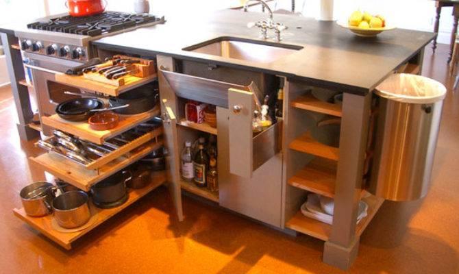 Space Saving Ideas Small Kitchen Living Big