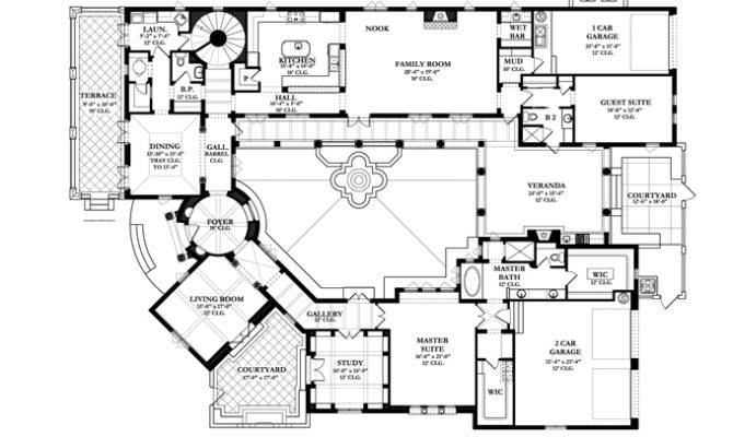 Spanish Colonial Revival House Plans Style