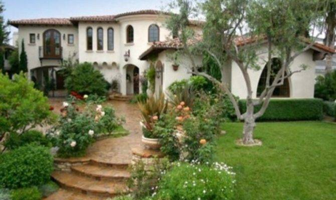 Spanish Colonial Style Home Interiors Exterio