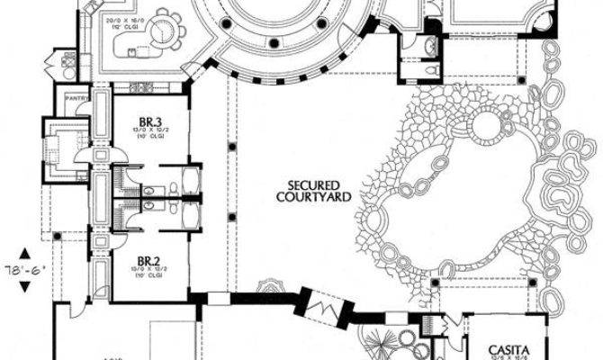 Beware There Are 10 Spanish Style House Plans With Courtyard Will Blow Your Mind House Plans