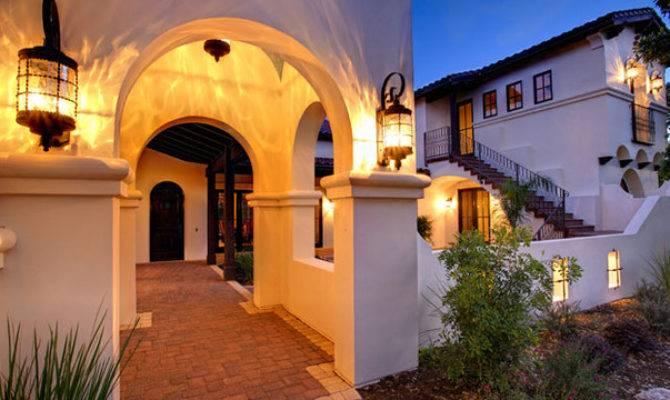 Spanish Hacienda Mediterranean Exterior Austin