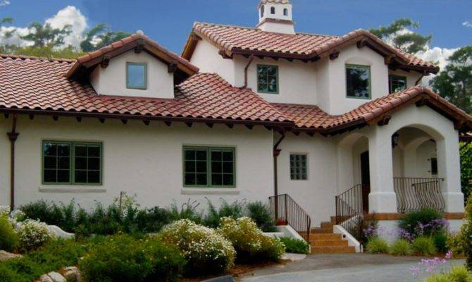 Spanish House Plans Encompass Colonial Revival Style