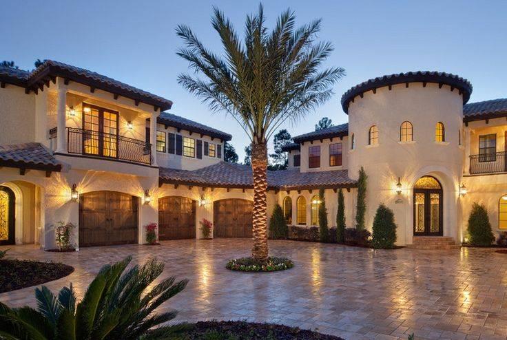 Spanish House Styles Design Hacienda Pinterest House Plans 23270