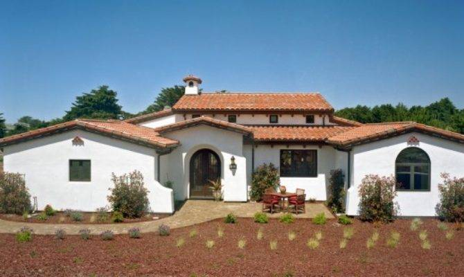 Spanish Mission Style Architecture Ranch Homes