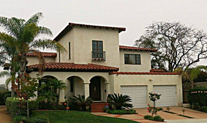 Spanish Mission Style House Plans California
