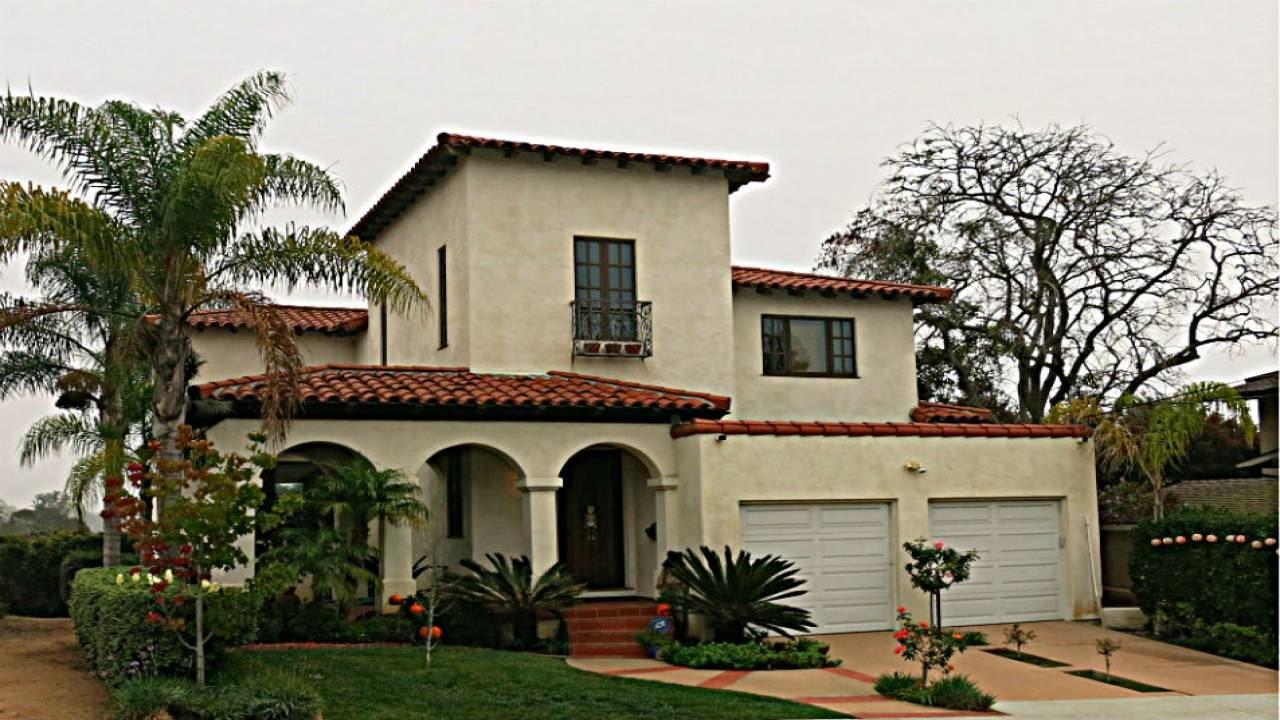 Spanish Mission Style House Plans California House Plans 171248