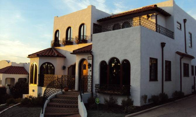 Spanish Revival San Diego Vintage Homes