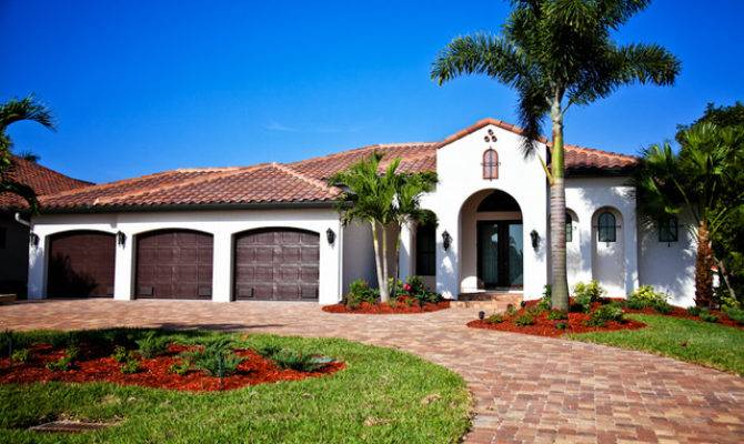 Spanish Style Home Modern Exterior Other House Plans 106773