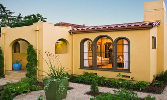 Spanish Style Homes Interior Courtyards Best