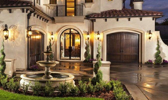 Spanish Style Homes Some Country Inspire