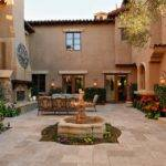 Spanish Style House Plans Central Courtyard House Plans 135760