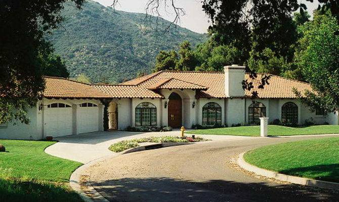 Spanish Style Ranch Homes Houses Home Plans