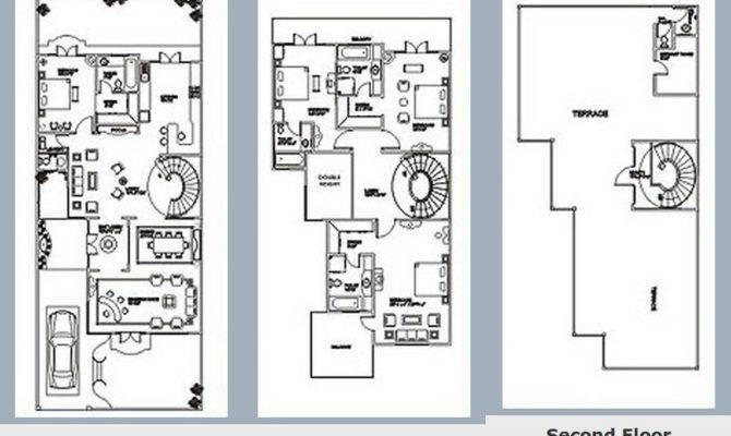 Spanish Villa Floor Plan
