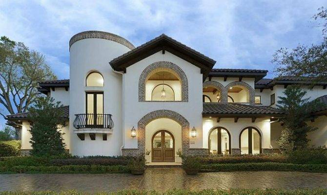 Spanish Villa Front Dream Home Pinterest Villas Style