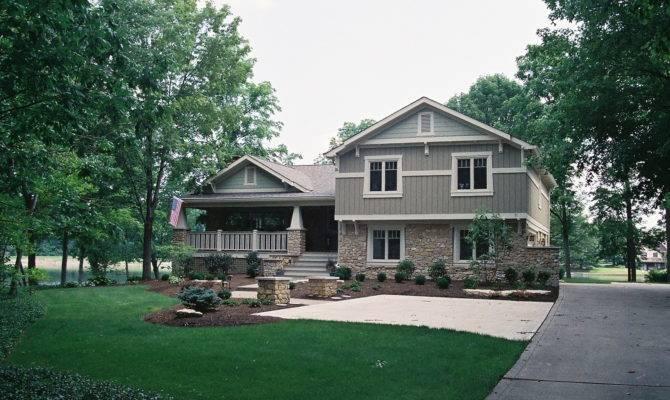 Special Plus Front Porches Split Level Homes Home Design