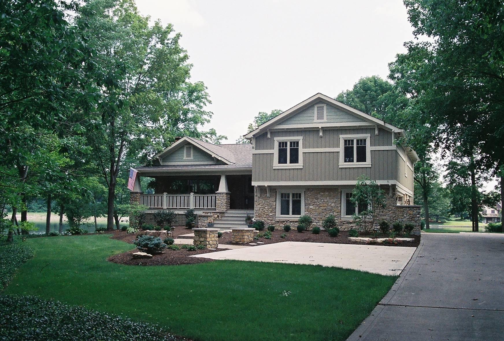 Special Plus Front Porches Split Level Homes Home Design House Plans 55931
