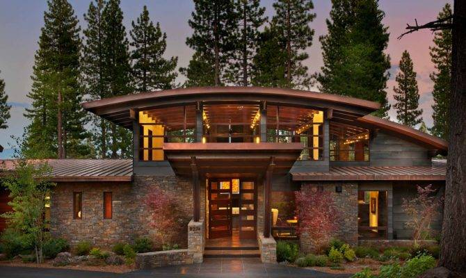 Spectacular Modern Mountain Style Dwelling Martis Camp