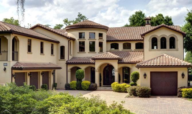 Spectacular Spanish Revival Custom Home New Listing