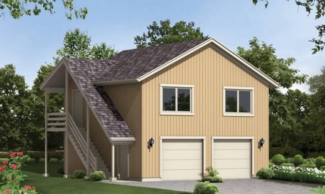 Spencer Park Western Garage Plan House Plans More