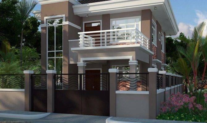 Splendid Modern Residential House Balcony Amazing