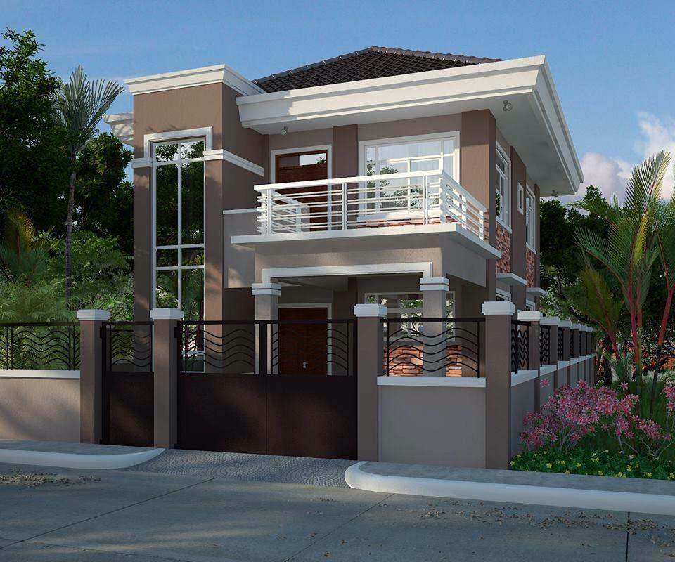 Splendid Modern Residential House Balcony Amazing - House ...