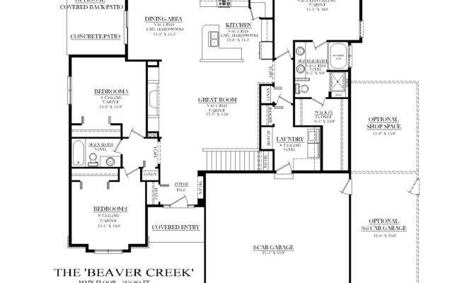 Split Bedroom Plans Elegant Ranch Floor Interalle