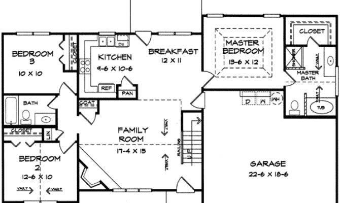 Split Bedroom Ranch Bonus Floor Master