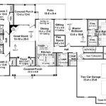 Split Bedrooms Open Floor Plan
