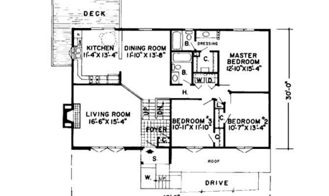Split Foyer House Plans Narrow Lots Design