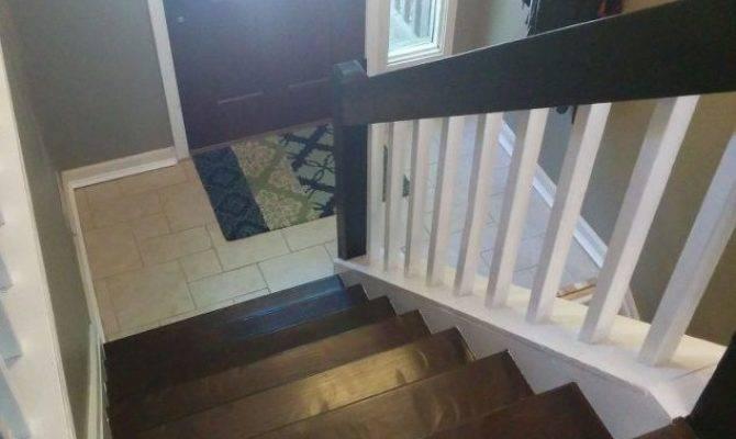 Split Foyer Staircase Gets Makeover Hometalk